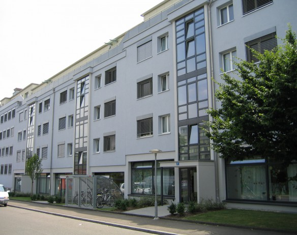 Treppenhaus Verglasungen isoliert