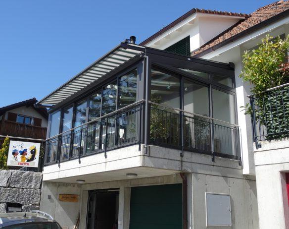 Balkon Verglasungen